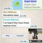 WhatsApp para iOS se actualiza con grabación de vídeos más largos y mejora en los mensajes de voz