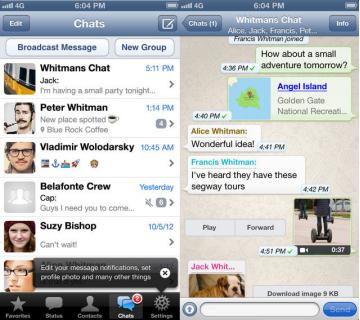 actualizacion whatsapp ios ok