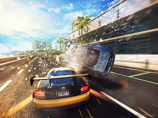 asphalt 8 golpes