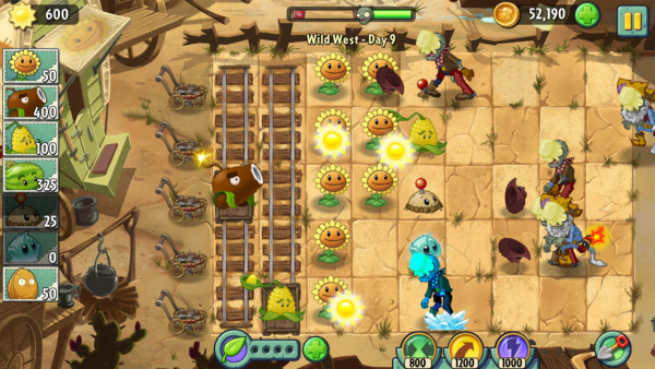 pvz2_cheats_10_plant_catapults