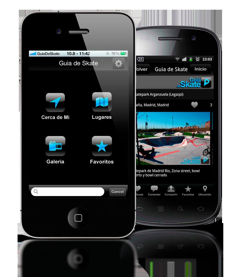 GuiaDeSkate-Android-IOS