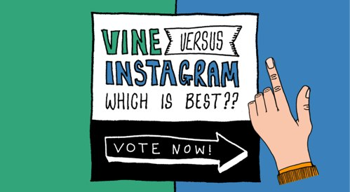 Vine versus Instagram: ¡Vota por tu favorita!