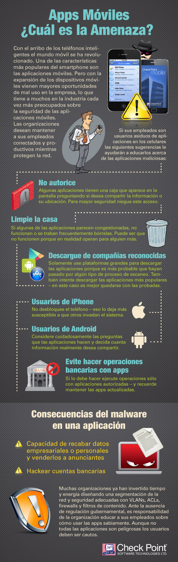 consejos malware apps moviles