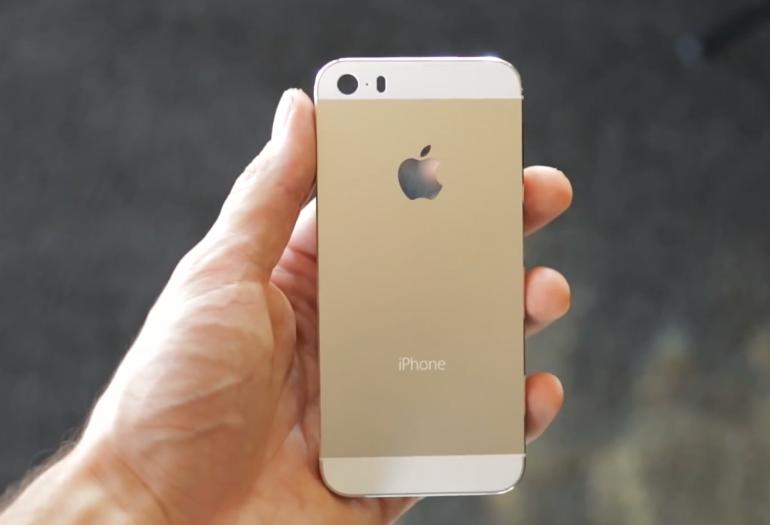iphone 5s vs se dorado