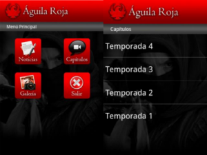 screenshots aguila roja android