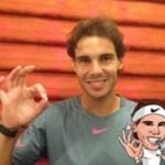 Line crea un sticker personalizado para Rafa Nadal por su victoria en el US Open 2013