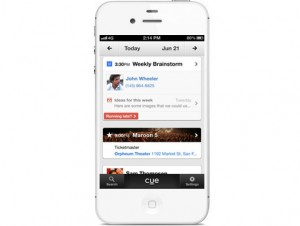 Cue-app