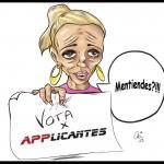 """Belén Esteban, la princesa del pueblo, pide tu voto para Applicantes: """"Yo por el Bitácoras ma-to"""""""