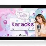 Una tablet y una app para imitar a Violetta, el popular personaje de Disney