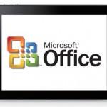 La app de Office para el iPad está al caer, según Microsoft