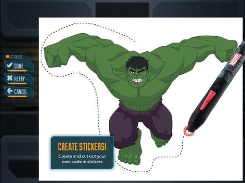 Sus Dibujos Favoritos De Disney Y Píxar Ahora Se Pueden Pintar: Marvel Lanza Una App Y Una Estilus Para Aprender A Dibujar