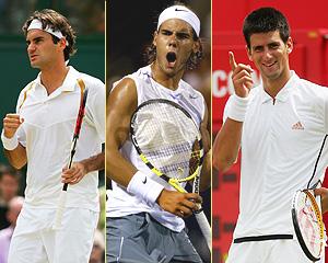 Federer Nadal Djokovic Masters Cup