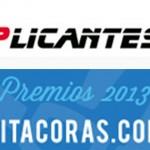 Gracias a todos vosotros Applicantes está en la gran final de los Premios Bitácoras 2013