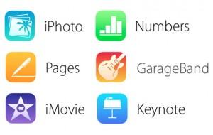 iWork e iLife Apps iOS 7