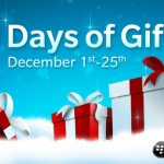 25 días de regalos para usuarios de BlackBerry 10