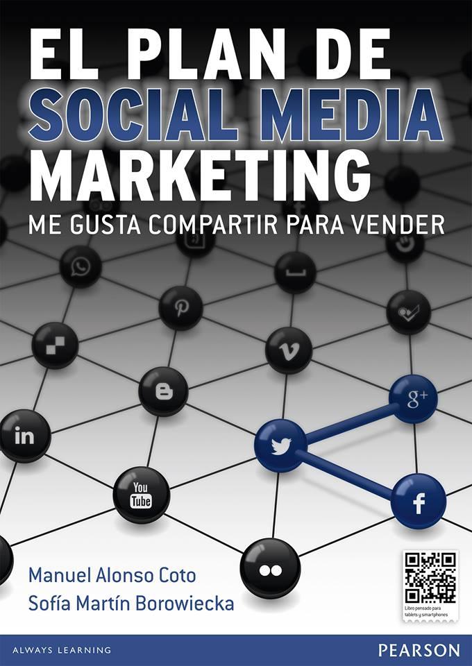 """Ya tenemos a los ganadores del libro """"El plan de Social Media Marketing"""" publicado por Pearson"""
