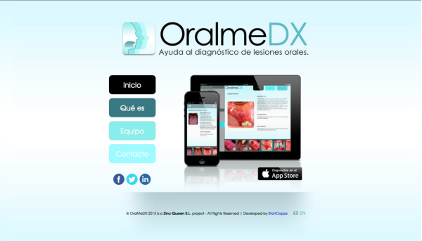 OralmeDX app