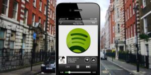 Spotify dispositivos moviles