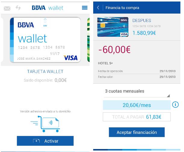 BBVA Wallet, la primera alternativa seria de un banco español para los pagos móviles
