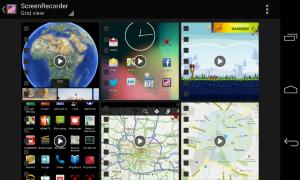 grabar pantalla app
