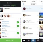 Instagram Direct, el puente directo para enviar fotos y vídeos a tus amigos