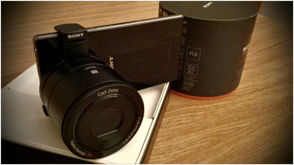 Smart Len Sony QX100