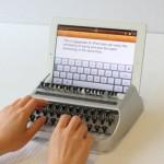 Vídeo: iTypewriter, un gadget retro que convierte tu iPad en una máquina de escribir