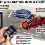Bosch muestra en CES 2014 una app para aparcar de forma automática