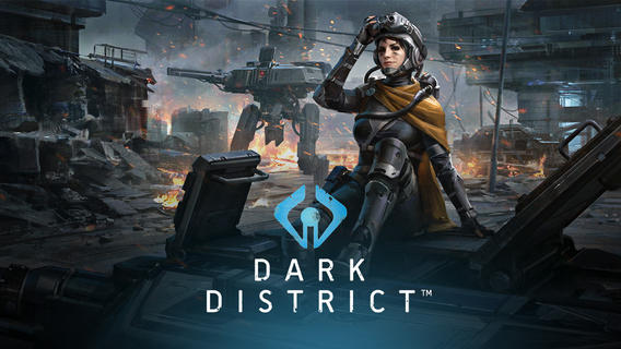 Dark District, el Clash of Clans de los mobile games de ciencia ficción