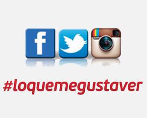 Comparte buenos momentos en Facebook, Twitter e Instagram con General Optica lo que me gusta ver