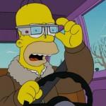 Vídeo: Homer Simpson también sucumbe a las Google Glass