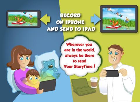 Cuenta cuentos desde la distancia con Your StoryTime