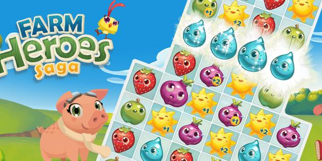 Farm Heroes Saga, el nuevo éxito de los creadores de Candy Crush Saga