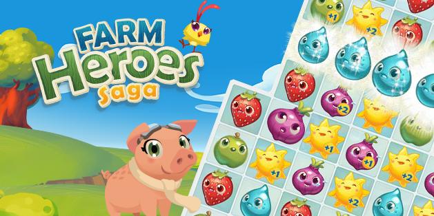 Farm Heroes Saga app iOS Android