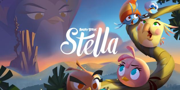 Vídeo: Primeras imágenes del juego Angry Birds Stella