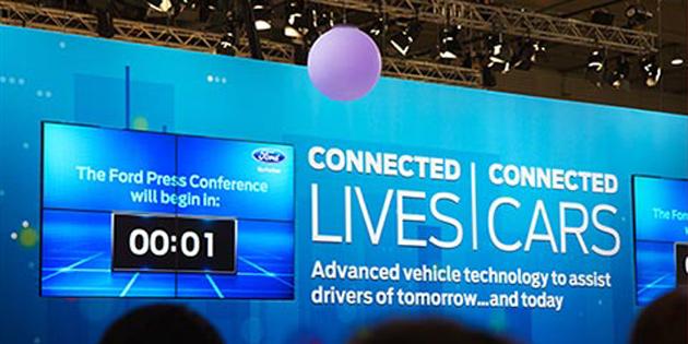 Tecnología SYNC 2: comandos de voz para controlarlo todo sin quitar las manos del volante