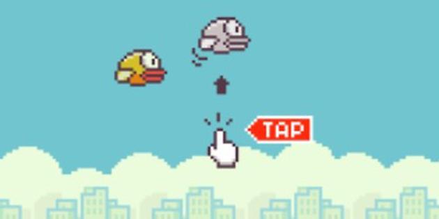 Aguantar 20 minutos en Flappy Bird como requisito para un puesto de trabajo