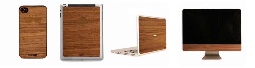 Fundas de madera iPhone iPad Macbook iMac Iubud