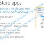 Microsoft permitirá a los desarrolladores crear apps universales que funcionen en Windows y Windows Phone