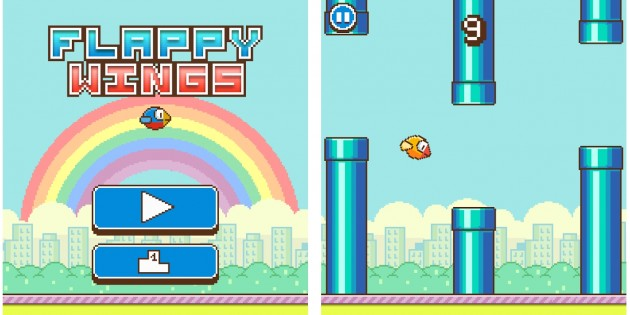 Flappy Wings y otras alternativas a Flappy Bird para iPhone e iPad