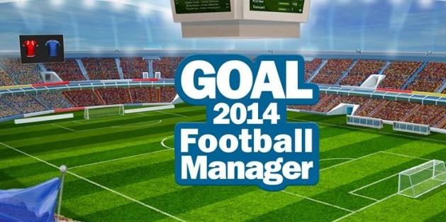 juegos de fútbol Goal 2014 Football Manager