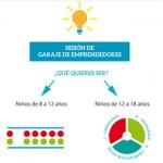 HackForGood también para niños: Garaje de emprendedores en Madrid
