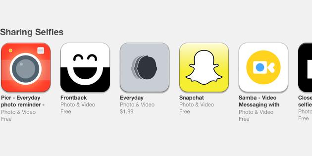 selfies-app-store