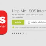 Help Me- SOS International, una app para hacer frente a emergencias en cualquier lugar del mundo