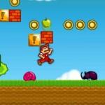 Steve´s World, un Mario Bros que come manzanas en lugar de setas