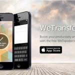WeTransfer se estrena en iOS