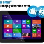 HP Omni 10: el tablet ideal para combinar trabajo y diversión