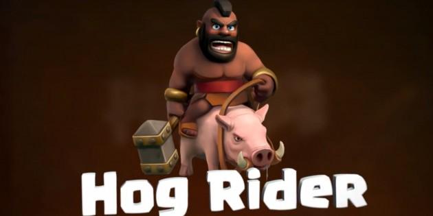 [Vídeo] Clash of Clans presenta sus tropas: The Hog Rider (El montapuercos)