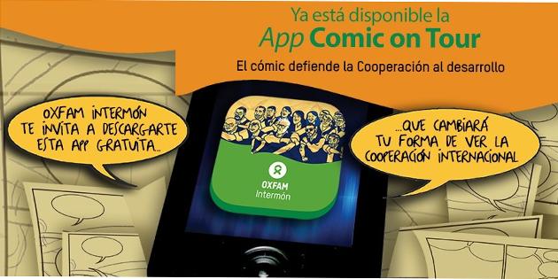 Cómic en forma de app para defender la cooperación española