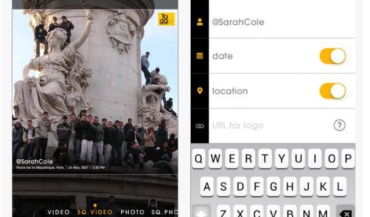 Tagg.ly, una app para añadir marcas de agua a tus fotos o vídeos